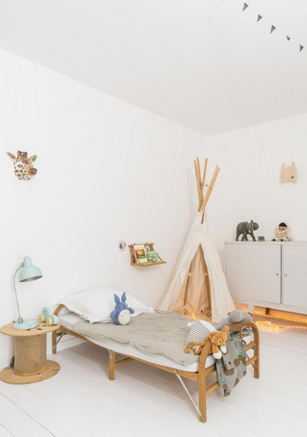 This is how to create a laidback bohemian kids room
