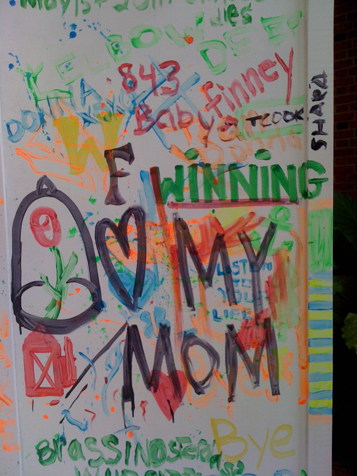 Graffiti Wall  Parents  Families