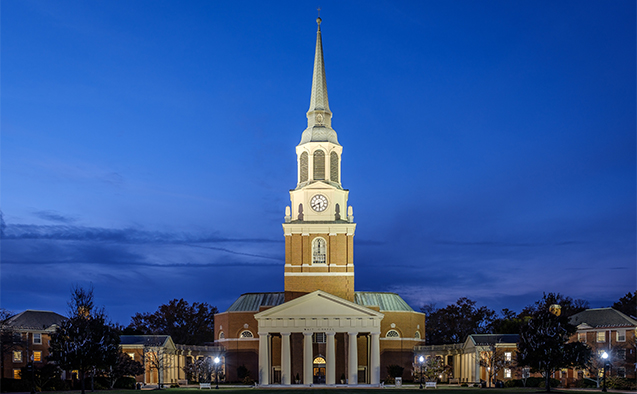 Wfu To Replace Wait Chapel Lights With Led Fixtures Wake