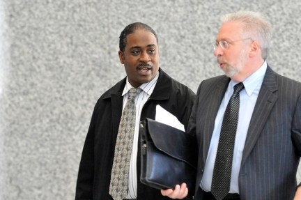 Kallatt Mohammed as he leaves the Dirksen Federal Building 219 S. Dearborn. Friday, October 26, 2012. | Brian Jackson~Sun-Times