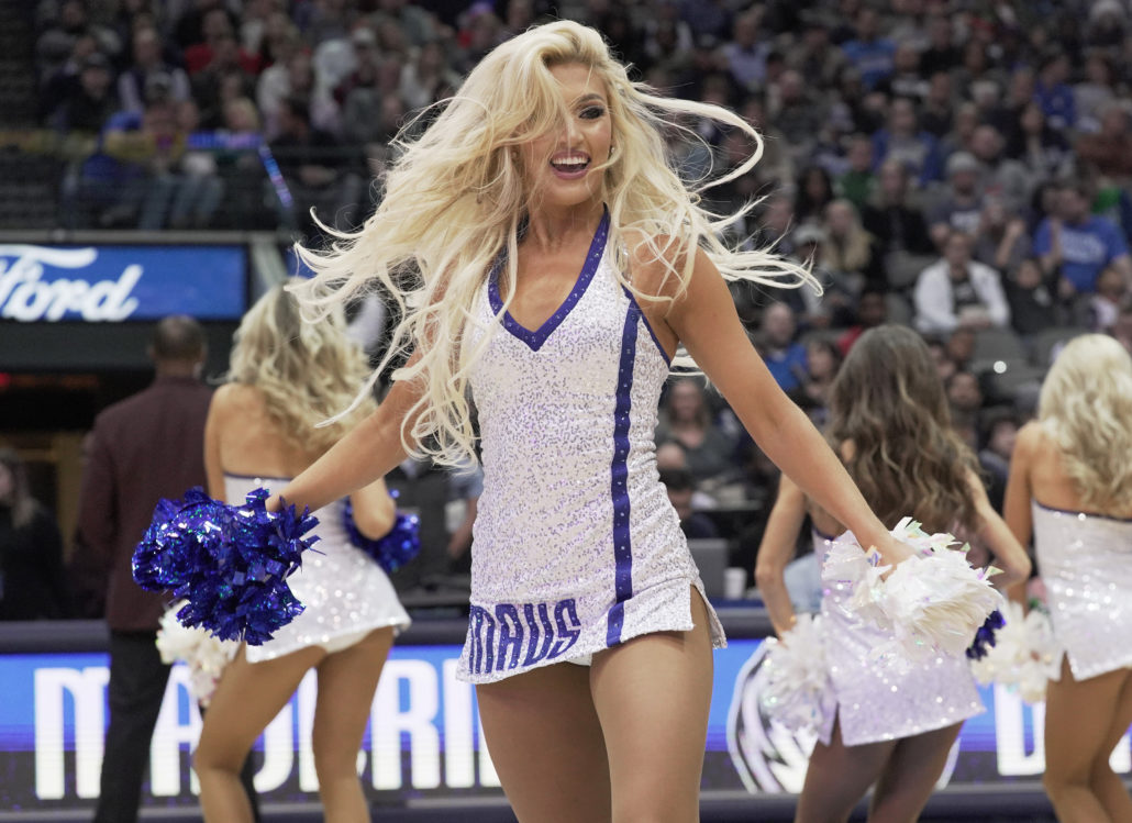 dallas mavericks dancers photos