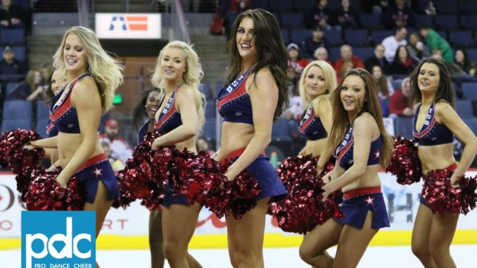 Texas Star Dancers perform at the Allen Americans Game - Pro Dance Cheer c8c2842b0