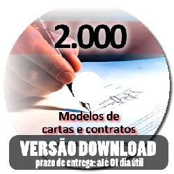 Dois mil modelos de cartas e contratos