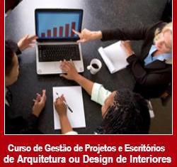 Curso de Gestão de Projetos e Escritórios de Arquitetura ou Design de Interiores [30 horas]