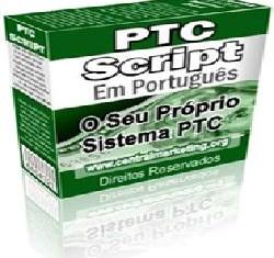 PTC (Pago para Clicar) script - O seu próprio script de PTC Com direitos de revenda!