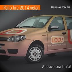 Fiat Palio 2014 em Vetor