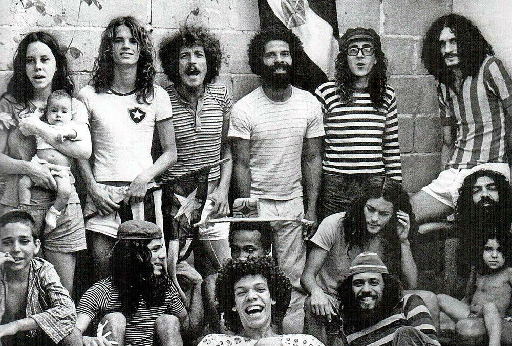 A história da banda Novos Baianos