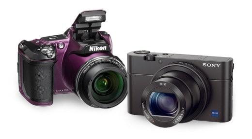 Câmera fotográfica e filmadoras
