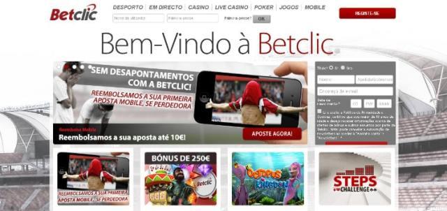 Site de apostas Betclic