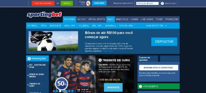 Site de apostas Sportingbet