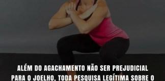 Frases de motivação - agachamento estabilidade do joelho