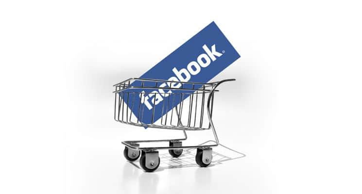 facebook commerce - loja