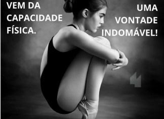 Frases de motivação - Força não vem da capacidade física. Ela vem de uma vontade indomável!