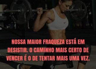 Frases de motivação - Nossa maior fraqueza está em desistir. - Thomas Edison