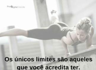Os únicos limites são aqueles que você acredita ter. - frases de motivação