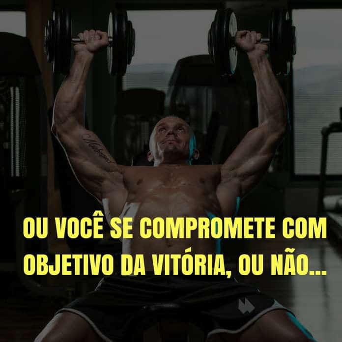 Frases de motivação - Ou você se compromete com objetivo da vitória, ou não... - Ayrton Senna
