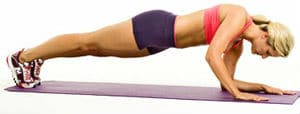 prancha com flexões alternadas - treinamento funcional
