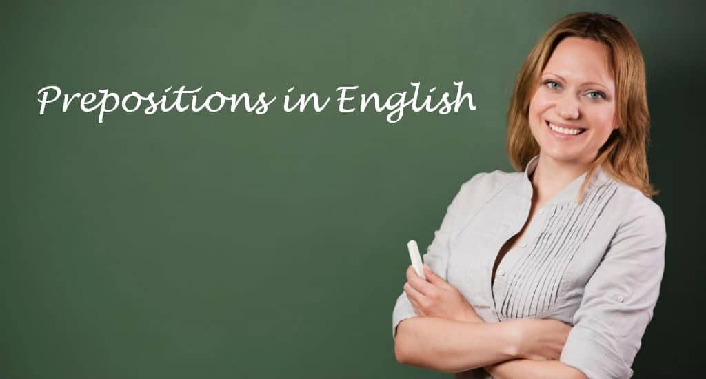 Preposições em inglês