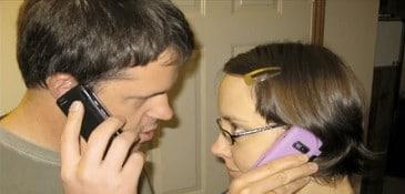 Aula de inglês - falando no telefone