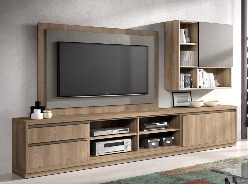 Muebles TV modernos de Muebles la Fbrica  Prodecoracion