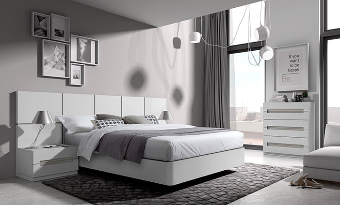 Grandes ofertas en elegantes dormitorios matrimoniales