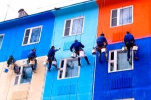 покраска-фасада