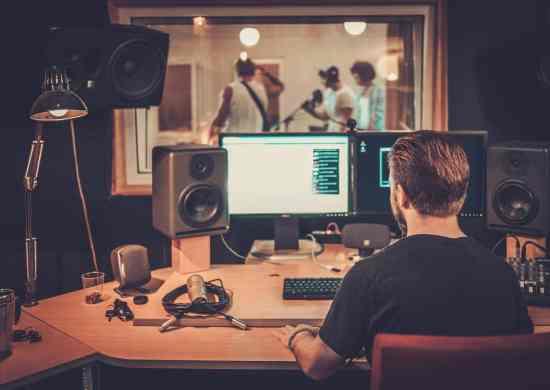 Grabación banda de música