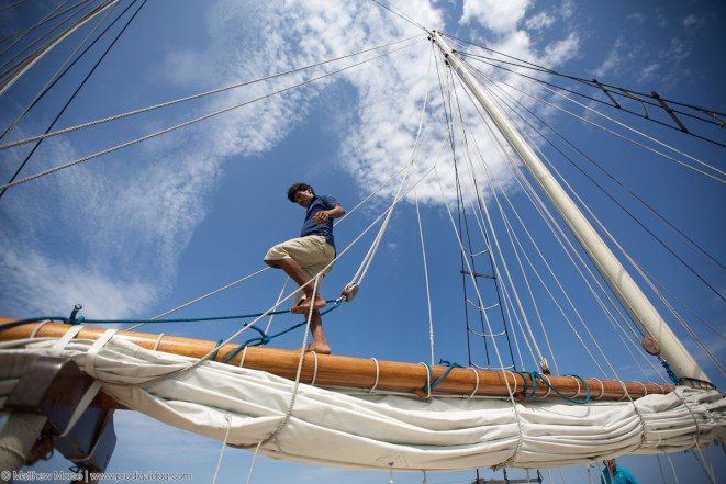 """Time to rig the sails and set out for the open sea! (Great, now I'll be humming """"Come Sail Away"""" for the next week)"""
