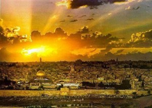 JERUSALEM AT SUNDOWN