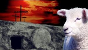 Cross Lamb Tomb Image