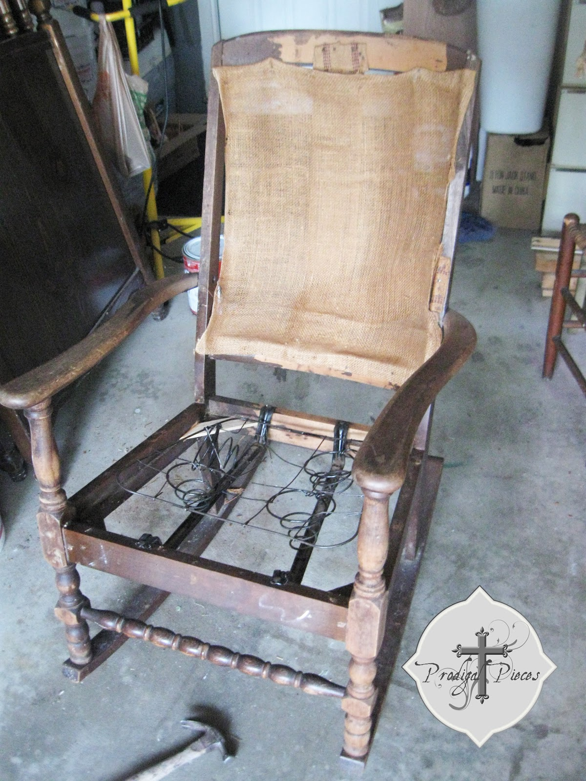 Spring Rocking Chair Rocking Chair Redo Prodigal Pieces