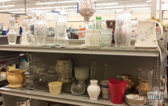 Thrift Store Glass Made New  Budget Diy  Prodigal Pieces