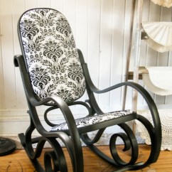 Bent Wood Rocking Chair Officeworks Accessories Rocker Found Curbside Turned Black Beauty Prodigal Pieces Seems You Can Find These Bentwood Chairs Unwanted Everywhere Ll Want To