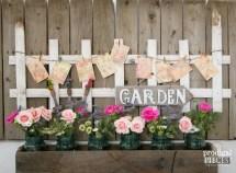 Garden Picket Fence Decor