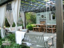 Repurposed Planter Patio Decor Refreshed - Prodigal Pieces