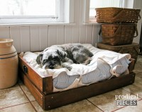 Pet Bed DIY ~ Building Plans & Tutorial - Prodigal Pieces