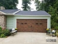 Refresh Old Wood Easily (Faux Wood Garage Door Update ...