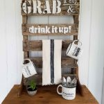 Mug Rack With Shelf From Repurposed Pallet Prodigal Pieces