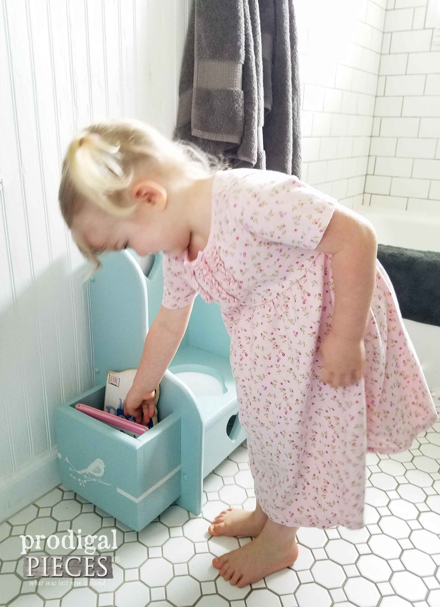 potty chair for girls chairs church sale makeover talking toddler style prodigal pieces