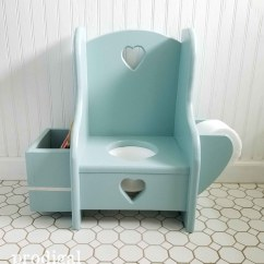 Potty Chair Antique White Wooden Desk Makeover Talking Toddler Style Prodigal Pieces