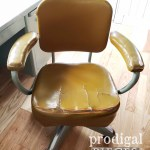 Vintage Industrial Office Chair Reupholstered Prodigal Pieces