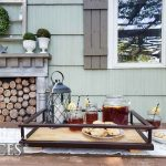 Upcycled Serving Trays From Bar Cart Parts Prodigal Pieces