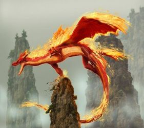 Fire Dragon Wallpaper Download to your mobile from PHONEKY