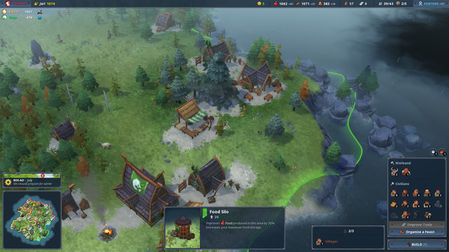 Northgard Cheat Gives Unlimited Food, Wood, Money And More |