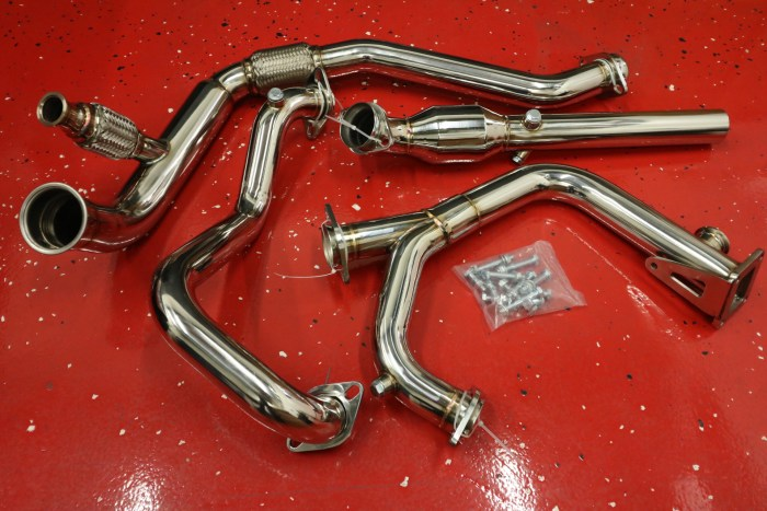Wrangler JK 3.8 Turbo Pipes-All
