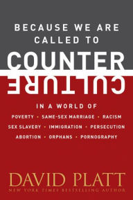 Because We Are Called to Counter Culture: In a World of Poverty, Same-Sex Marriage, Racism, Sex Slavery, Immigration, Persecution, Abortion, Orphans, and Pornography
