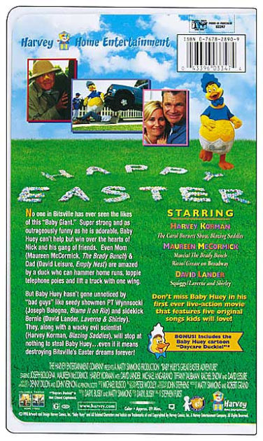 Baby Hueys Great Easter Adventure by Stephen Furst