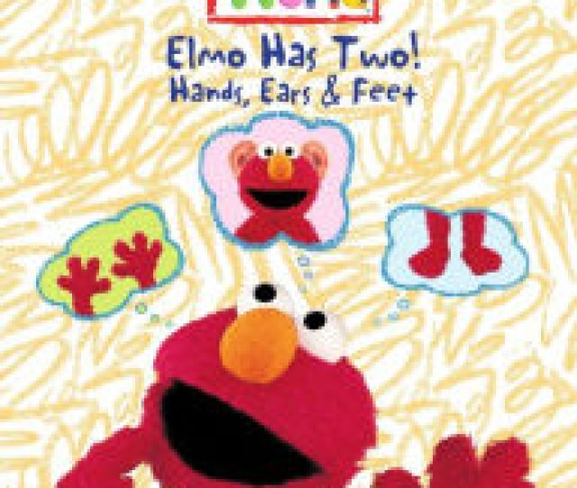 Sesame Street Elmos World Elmo Has Two