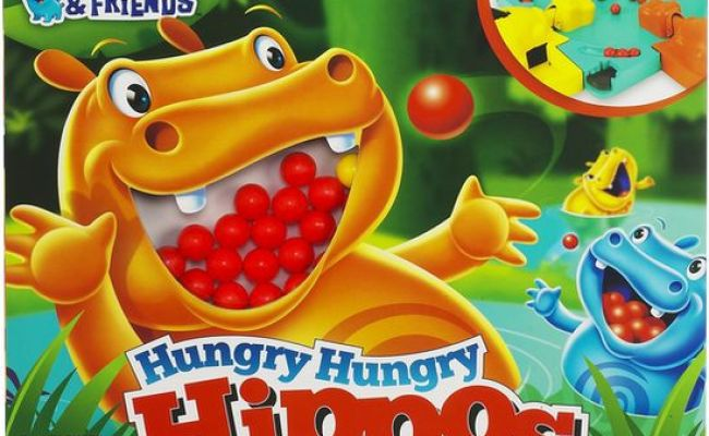 Hungry Hungry Hippos Game 653569740926 Item Barnes