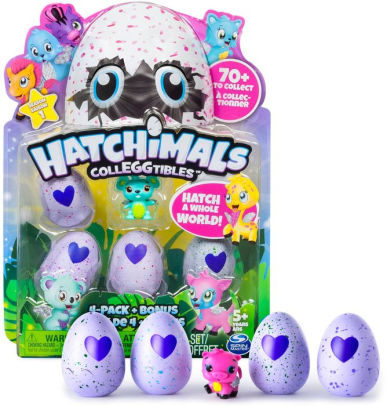 hatchimals colleggtibles 4pk bonus
